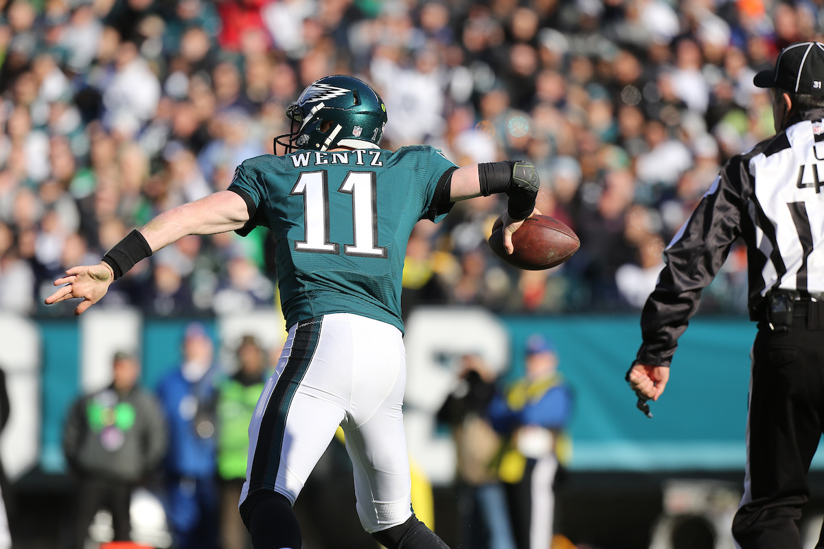 Lurie Made The Right Move To Protect Carson Wentz