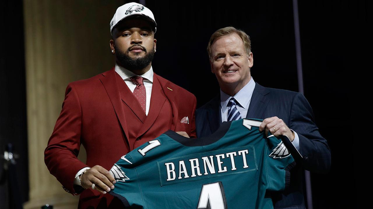 Thoughts On The Derek Barnett Pick